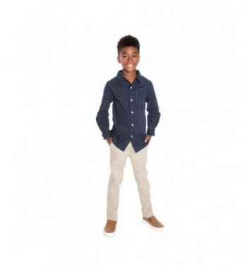 New Trendy Boys' Button-Down Shirts Clearance Sale