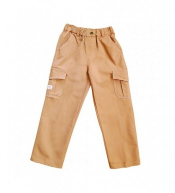 Azure Canvas Organic Cotton Pants Brown