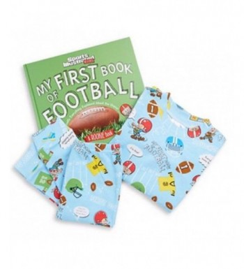 Books Bed Little Football Pajama