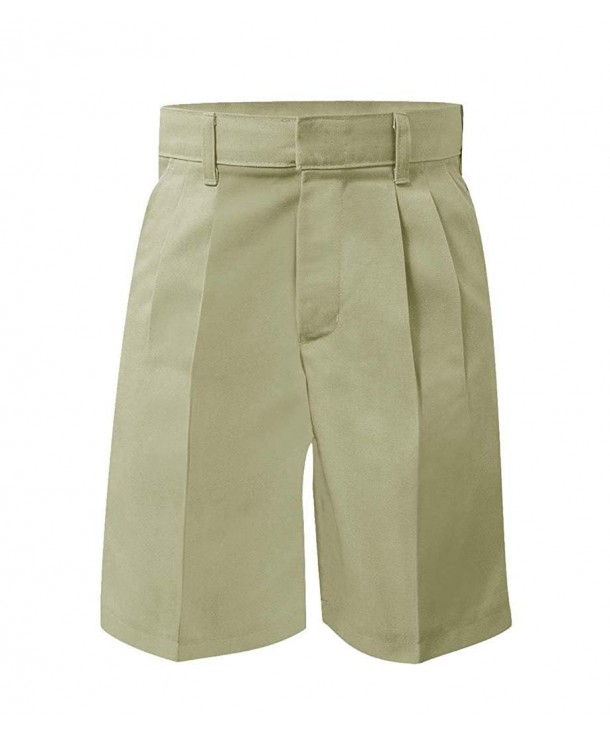 School Uniform Relaxed Pleated Short