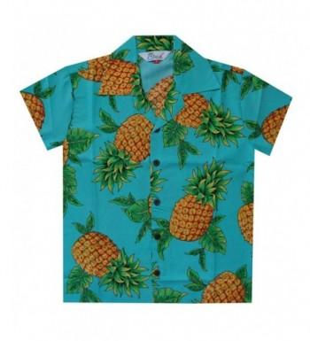 Hawaiian Shirts Pineapple Casual Holiday