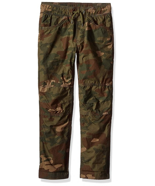 Crazy Drawstring Lined Woven Jogger