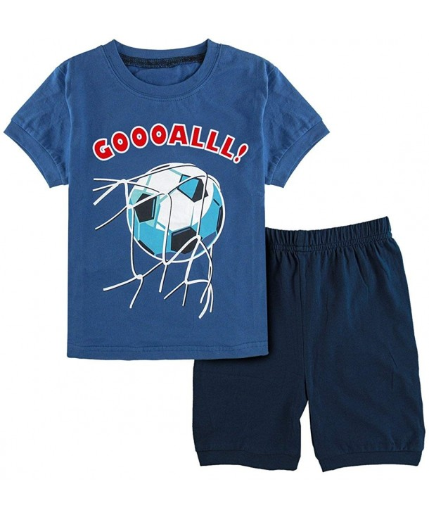 DESIGN Soccer Pajamas Short Sleeve