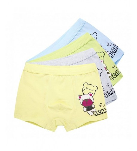 6-12YRS BLUE PETAL ECO BOXERS