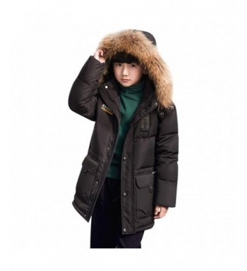SITENG Winter Hooded Overcoat Mid Long