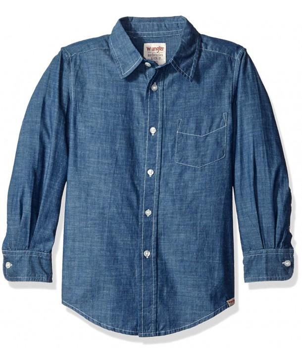 Wrangler Authentics Sleeve Woven Shirt