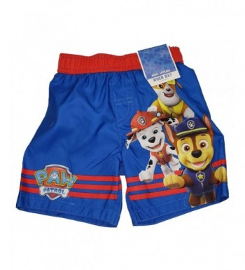 Toddler Boys Patrol Short Trunk
