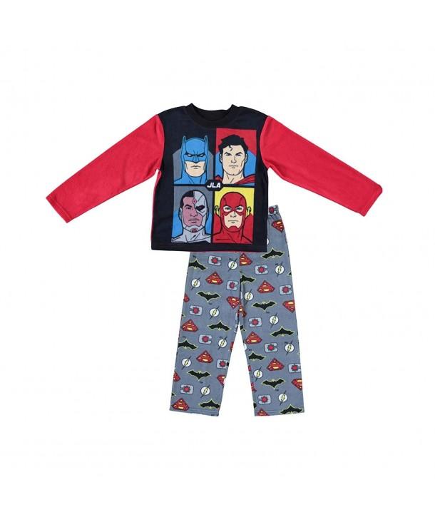 Justice League Comics Boys Pajamas