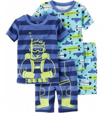 Carters Toddler 4 pc Scuba Pajama