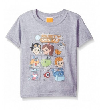 Nickelodeon Little Character T Shirt Heather