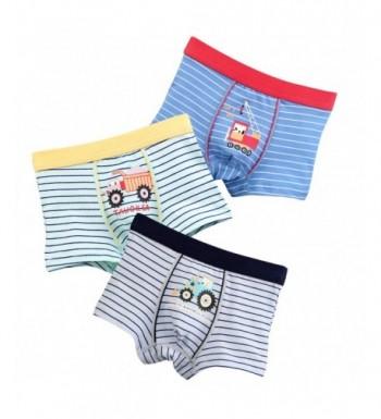 Briefs 3 Pack Striped Toddler Underwear