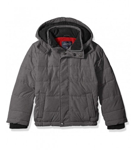 Nautica Resistant Signature Bubble Jacket