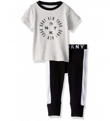 DKNY Sleeve T Shirt Jogger Sleepwear