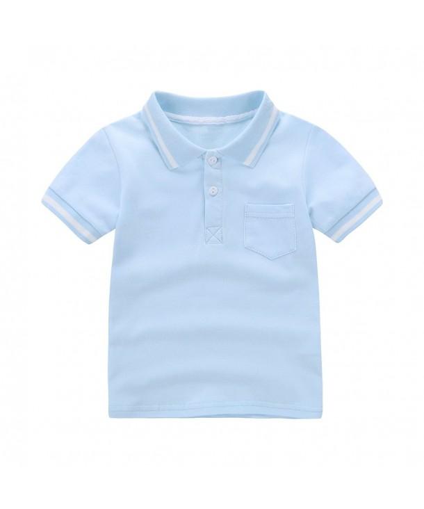 Motecity Fashion Little Casual Polo Shirt