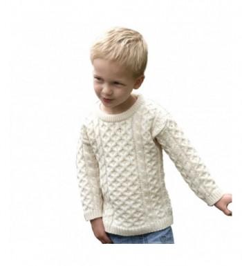 100 Irish Merino Little Sweater