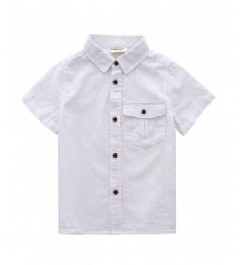 MOMOLAND Toddler Sleeves Button Design