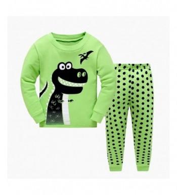 Masonanic Toddler Dinosaur Pajama Cotton
