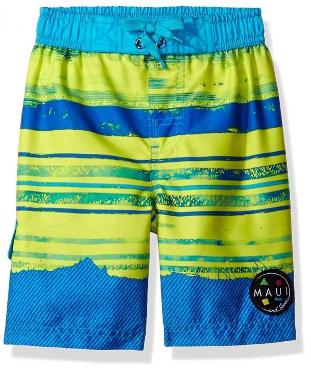 Maui Sons Boys Swim Trunk