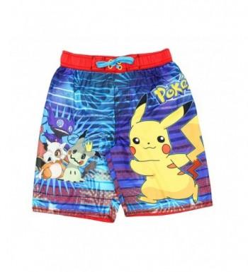 Pokemon Pikachu Trunks Swimwear Little