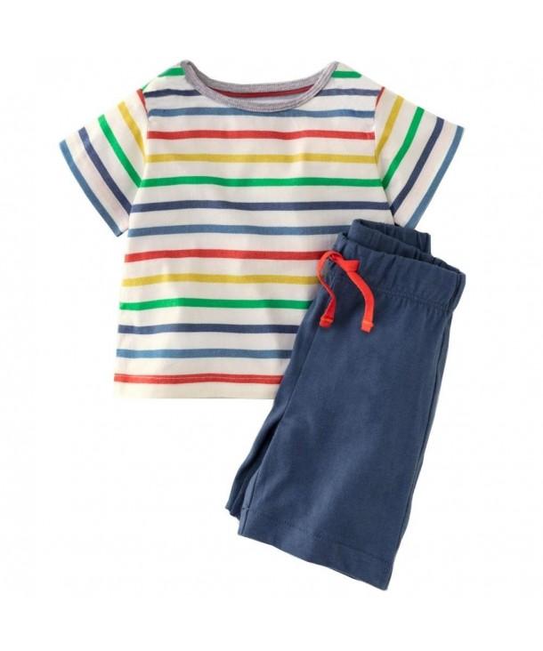 Bleubell Toddlor Shorts Summer Jersey