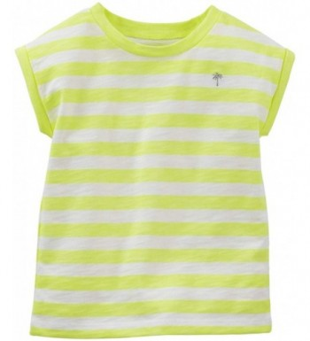 Carters Little Girls Striped Toddler