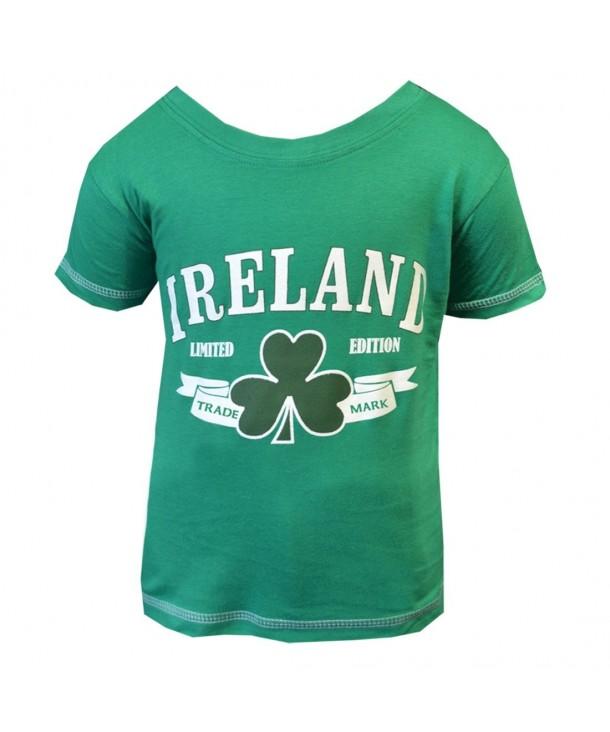 Green Ireland Shamrock Trademark T Shirt
