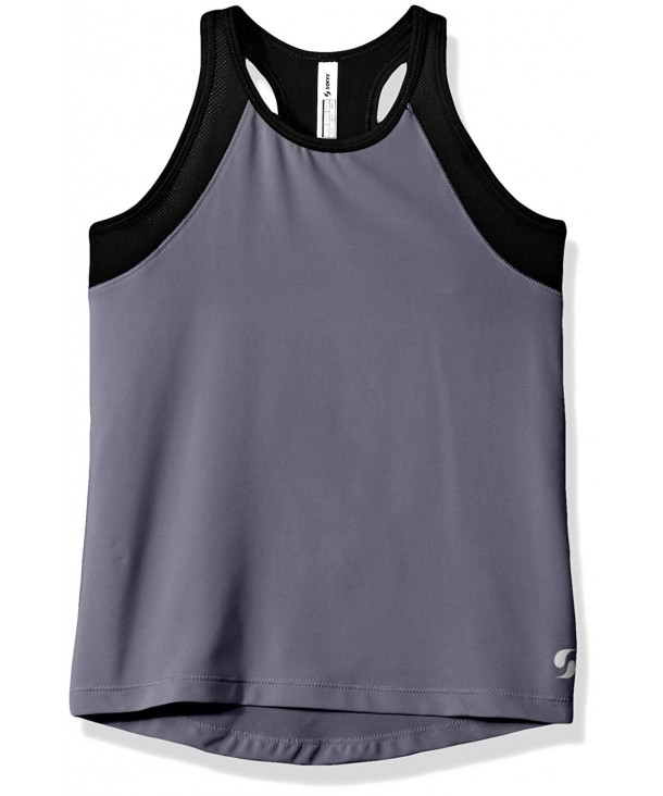 Soffe Girls High Neck Track
