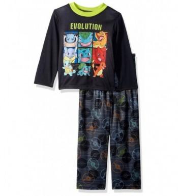 Pokemon Boys Evolution 2 Piece Pajama