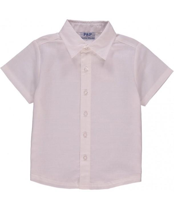 Piccino Piccina White Dress Shirt