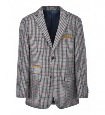 Ike Behar Blazer Jacket Checker
